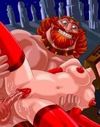 Big-dicked barbarians punishing their pain sluts