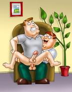 Family Guy takes dick