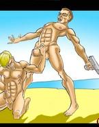 Armed studs hunt for ultimate gay pleasure