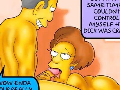 simpsons porn video